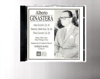 Alberto Ginastera CD, Musical Heritage Society