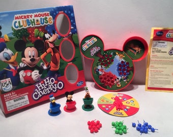 Disney Mickey Mouse and Friends Hi Ho Cherry O Game Complete in Great Condition FREE SHIPPING