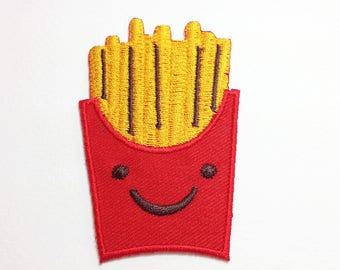 French Fries patch Fries Iron on patch