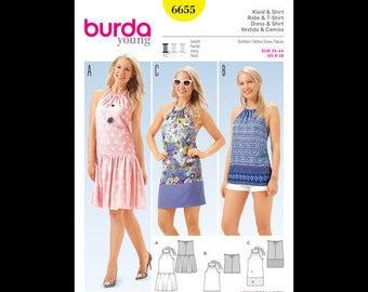 Burda Cut 6655 Dress & Shirt