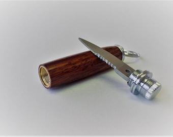 Pocket knife in Cocobolo wood