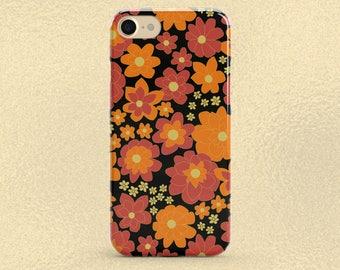 Floral Phone Case, iPhone 8 Plus Case, iPhone 8 Case, iPhone 7 Plus Case, iPhone 7 Case, iPhone 6 Case, Phone 6s Case, Cute Flower