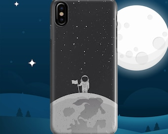 iphone x case Man On The Moon iphone 6 case iphone 7 case iphone 8 case iphone 8 plus case samsung s8 case samsung note 8 case 7