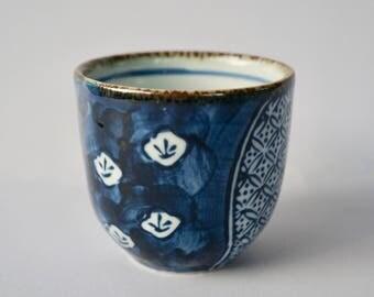 Japanese Ceramic Tea Cup/Handmade Yunomi/Matcha Tea Cup/Japanese Pottery