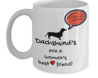 Dachshund mug dog coffee mug
