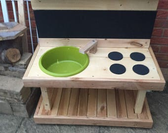Mud Kitchen With Black Board