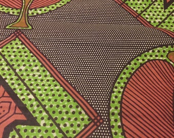 NEW! Beautiful Ankara Cotton Fabric. Great Quality! Great Price! JULY SPECIAL! Buy one yard, get one free!  (max, 2 yards)