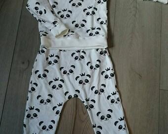 Set 3 panda jersey