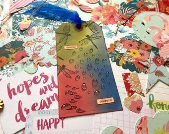 Scrapbook handmade, junk journal handmade, scrapbook ephemera, paper embellishments, junk journal kit