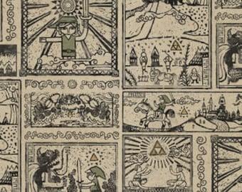 Nintendo The Legend of Zelda Cotton fabric