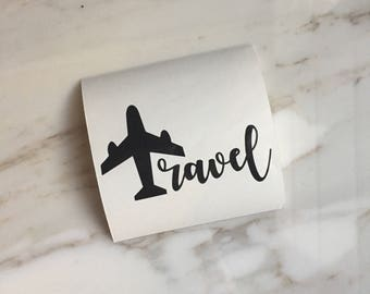 Travel Decal | Flight Attendant Gift