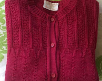Pendleton Sweater Woolen Mills 100 Percent Virgin Wool. Portland Oregon Size 36