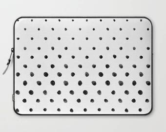 Polka Dot Laptop Sleeve, Laptop Cover, Laptop Sleeve 13, Laptop Sleeve 15, MacBook Sleeve 13, Laptop Sleeve 13 inch, Laptop Sleeve 15 inch