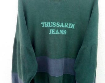 Rare!! Trussardi jeans sweatshirt