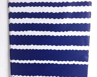 Wax fabric, cotton, African wax print nautical fabric ankara by the yard