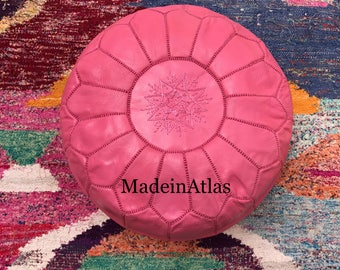Moroccan pouf, Moroccan ottoman, pouf marocain