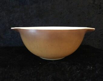 Brown Pyrex Cinderella Mixing Bowl