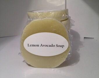 Lemon Avocado Soap