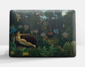 "Laptop skin (Custom size). Henri Rousseau, ""The Dream"". Laptop cover, HP, Lenovo, Dell, Sony, Asus, Samsung etc."