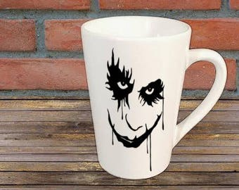 Dark Knight Batman Joker Mug Coffee Cup Halloween Gift Home Decor Kitchen Bar Gift for Her Him Any Color Personalized Custom Merch Massacre