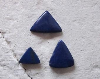 Lapis Lazuli. Lot 3 Pcs. S0435