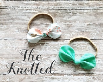 Knotted Hair Bow