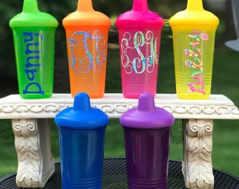Monogrammed Sippy Cup, Personalized Baby Cup, Juice Cup, Sippy Cup,Personalized Sippy Cup, Children's Cup
