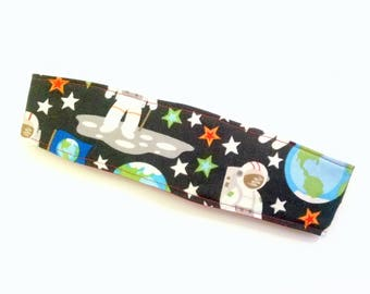Astronaut Headband- Nonslip- Space Headband- Glow in the Dark- Nerdy Hair Accessory- Science Gift- Science Headband- Geeky Christmas Gift