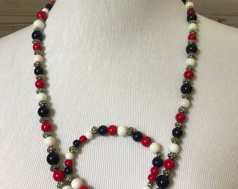 America The Beautiful Necklace and Bracelet Pair!