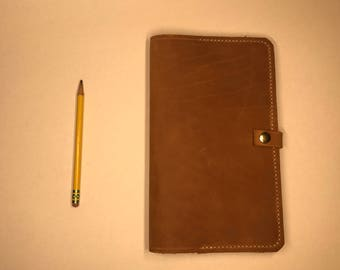 Simple Leather Moleskine Notebook Cover