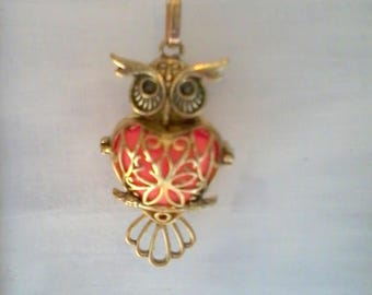 chain and pendant OWL fluorescent