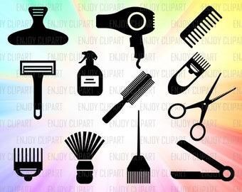 Hairdresser Svg, Hairdresser Decal, Hair Dryer Svg, Hair Stylist Svg, Hair Svg, Stylist Svg, Make Up Svg, Digital Cut Files, Cricut Designs