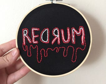 "5"". the shining hand embroidery"