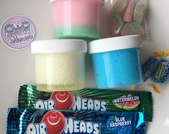 Movie Theater Box / Fluffy Slime / Scented / gifts for kids / Crunchy /therapeutic / most popular / Snow Slime / Gifts for kids / Slime Box