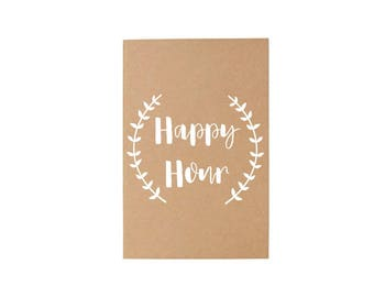 Happy Hour Journal
