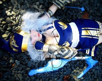 11x17 Ashe Cosplay Print #1 Kissed & Signed Limited Edition