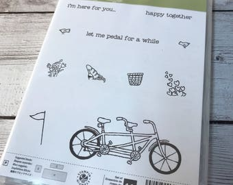 Stampin Up Pedal Pusher Retired SAB New