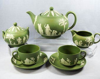 Wedgwood Jasperware Tea for Two Set