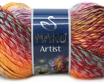 Nako Artist, 100 g 150 m,