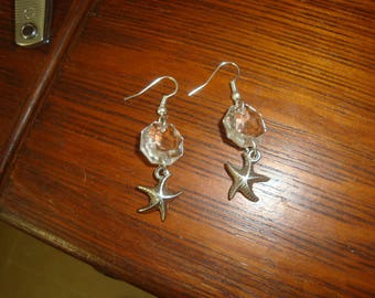 earring Silver Star fish