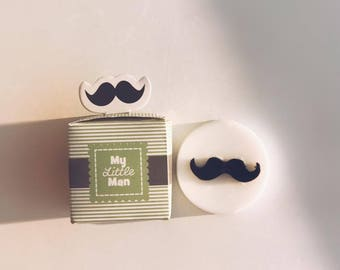 Mustache soaps, men soap, mustache, Wedding Favors, Valentine's Gift, Father's Day soap, Bachelor Soap Favors, Birthday Party Soap Favors