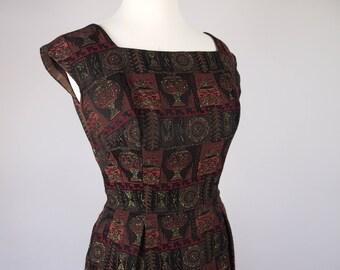 50s Wiggle Dress - Party Dress