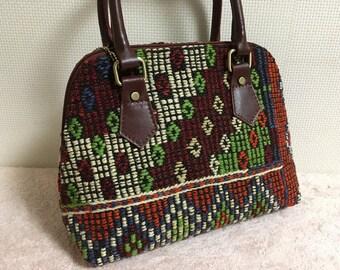 20% OFF FREE Shipping, 2way Kilim bag, Boho chic bag, Shoulder bag, Handbag, Killimbag