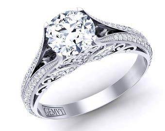 Arielle Diamond Engagement Ring 1178