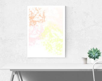 Art Print - Wall Art - Art Decor - Abstract art - Pastel Wall Art - Simple Decor - Minimalist - Home Decor - Home Art - Abstract Print