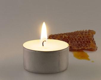 Honeycomb Scented Vegan Soy Handmade Scented Tealights