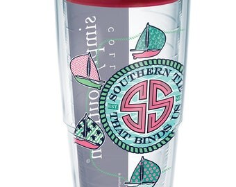 """NEW ITEM! Simply Southern Tervis 24 oz. """"Southern Tie that Binds Us"""" Tumbler"""