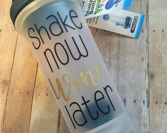 Shaker bottle, wine, BPA free