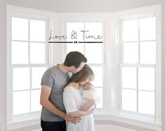 Window Digital Background - maternity - newborn - child - family - Instant Download