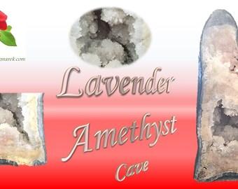 Lavender Amethyst Crystal Cave 53.6Kg!